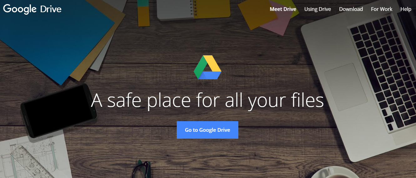 Google Drive. Cloud Service Providers