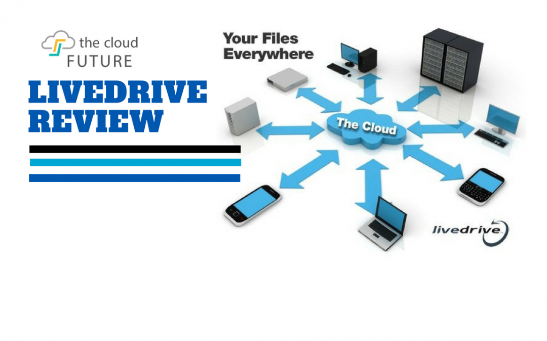 livedrive cloud storage and review