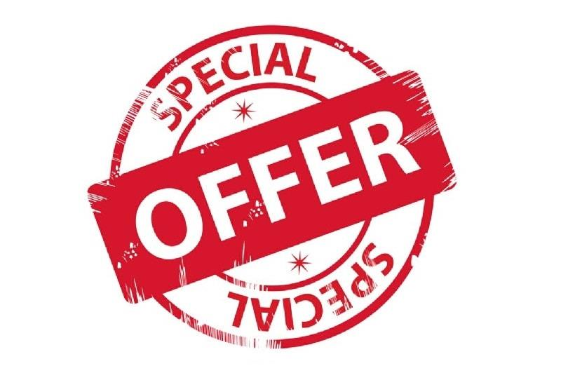 Special Offer Early Bird