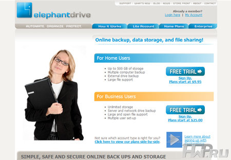 elephant drive website