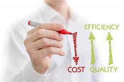 lower cost higher efficiency and quality